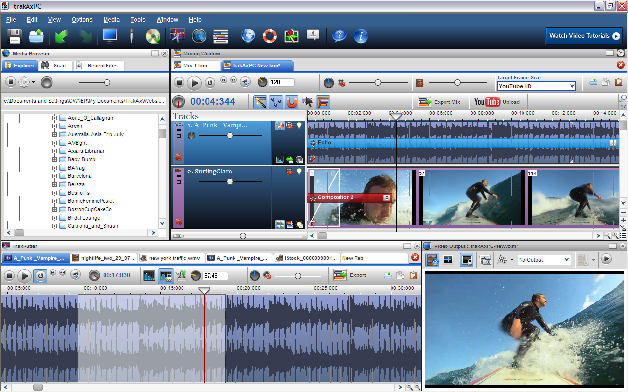 video editing software pc: