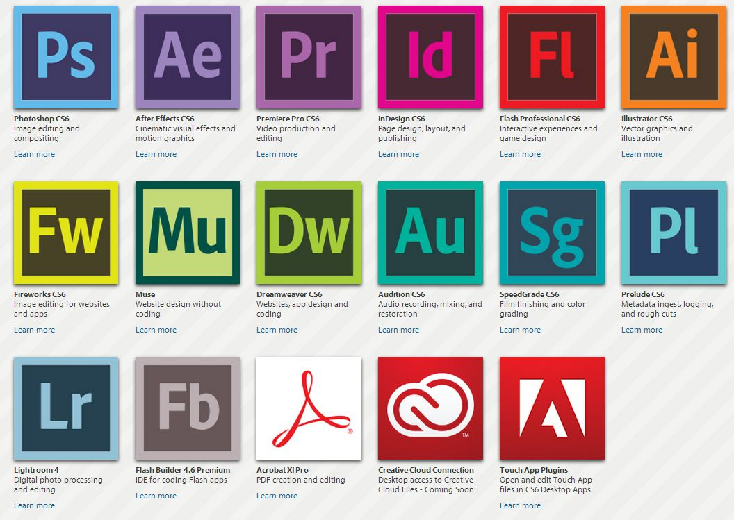Adobe Creative Cloud Subscription - Software4Students.co.uk ...