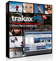 trakAxPC Video Editing Software