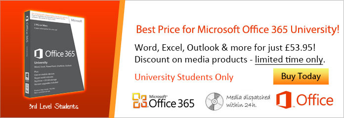 Office 365 University Discount - New Price