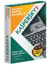 Kaspersky Mobile Security 9  - 1 Phone 1 Year