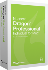 Dragon Professional Individual 6 for Mac Edition